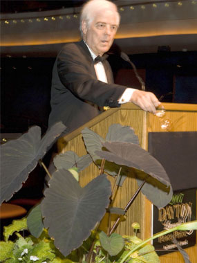 Nick Clooney served as Master of Ceremonies