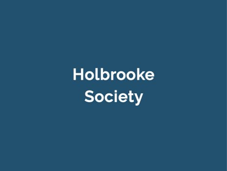 Holbrooke-Donation